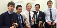 National Youth Orchestra boys