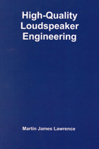 High-Quality Loudspeaker Engineering