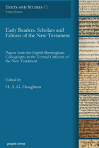 Early Readers of New Testament